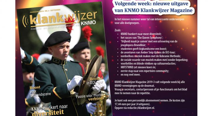 KNMO Klankwijzer Magazine met diversiteit aan onderwerpen