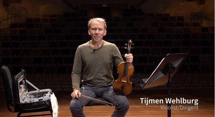 Profs helpen amateurs #7: Tijmen Wehlburg (viool)