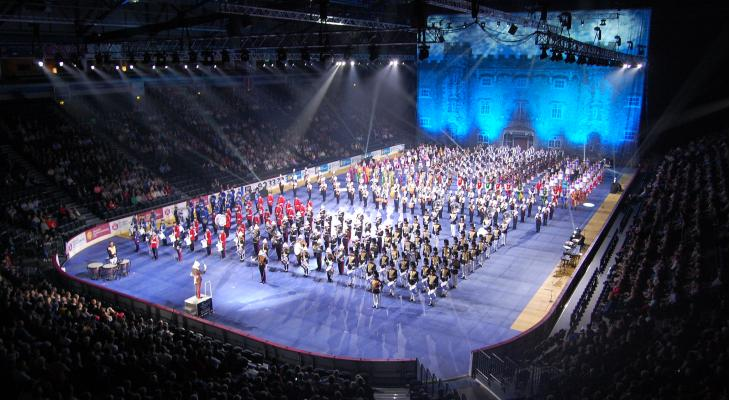 Adest Musica naar The Belfast International Tattoo