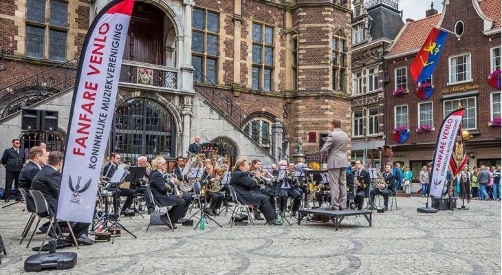 Koninklijke Muziekvereniging Fanfare Venlo zoekt dirigent