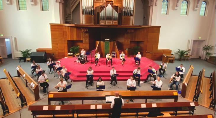 Sterren in de schijnwerpers tijdens concert Crescendo