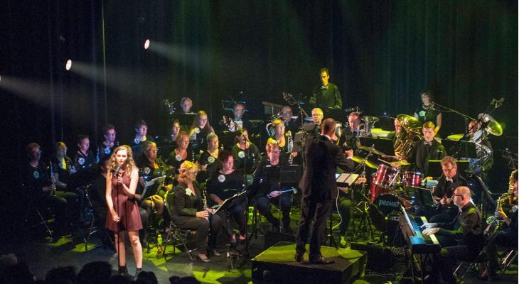 Het Zaans Showorkest biedt talent een podium