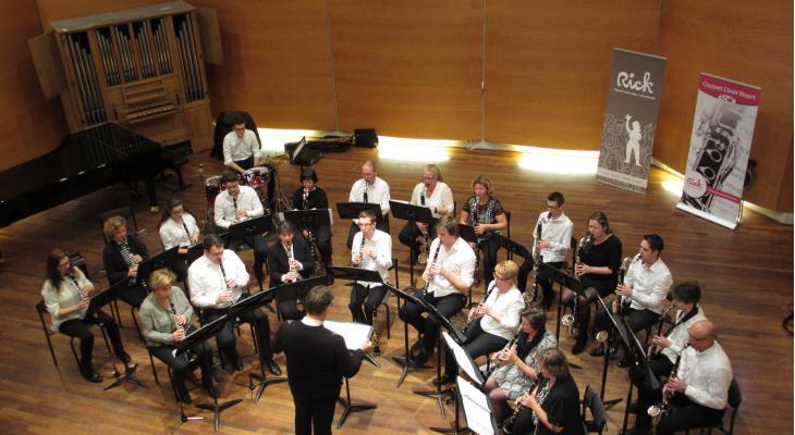 Concert Clarinet Choir Weert tijdens Cultureel Lint Weert
