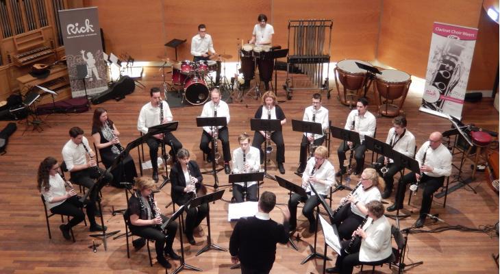 Clarinet Choir Weert en Mandoline Ensemble The Strings Stein