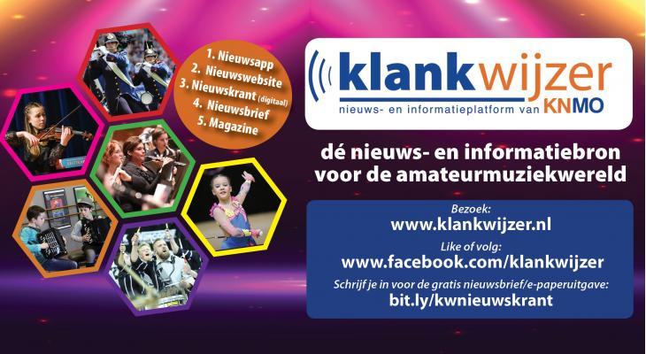 KNMO Klankwijzer: dé nieuws- en informatiebron van de amateurmuziek