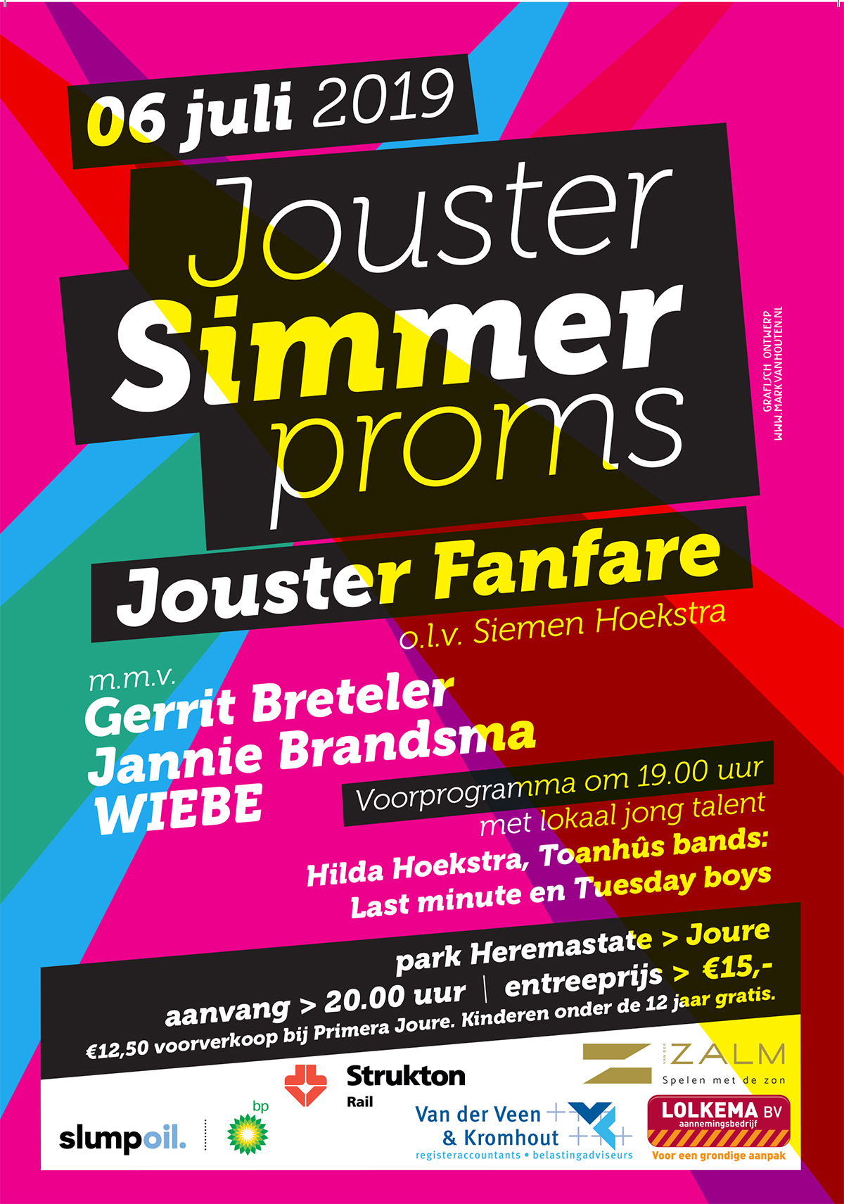 Jouster Simmer Proms 3 juni - 6 juli