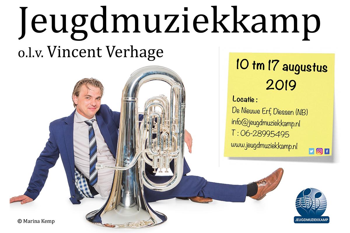 Jeugdmuziekkamp tot 1 april