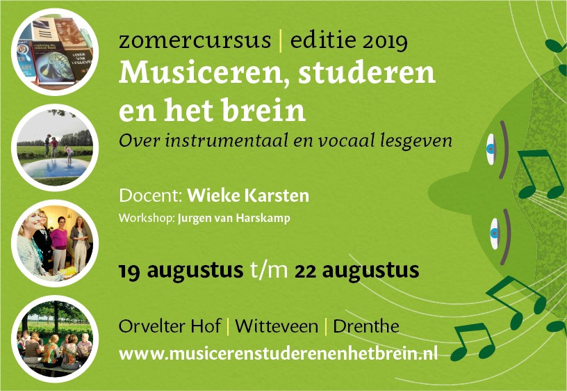 Zomercursus Wieke Karstens 1 t/m 21 april