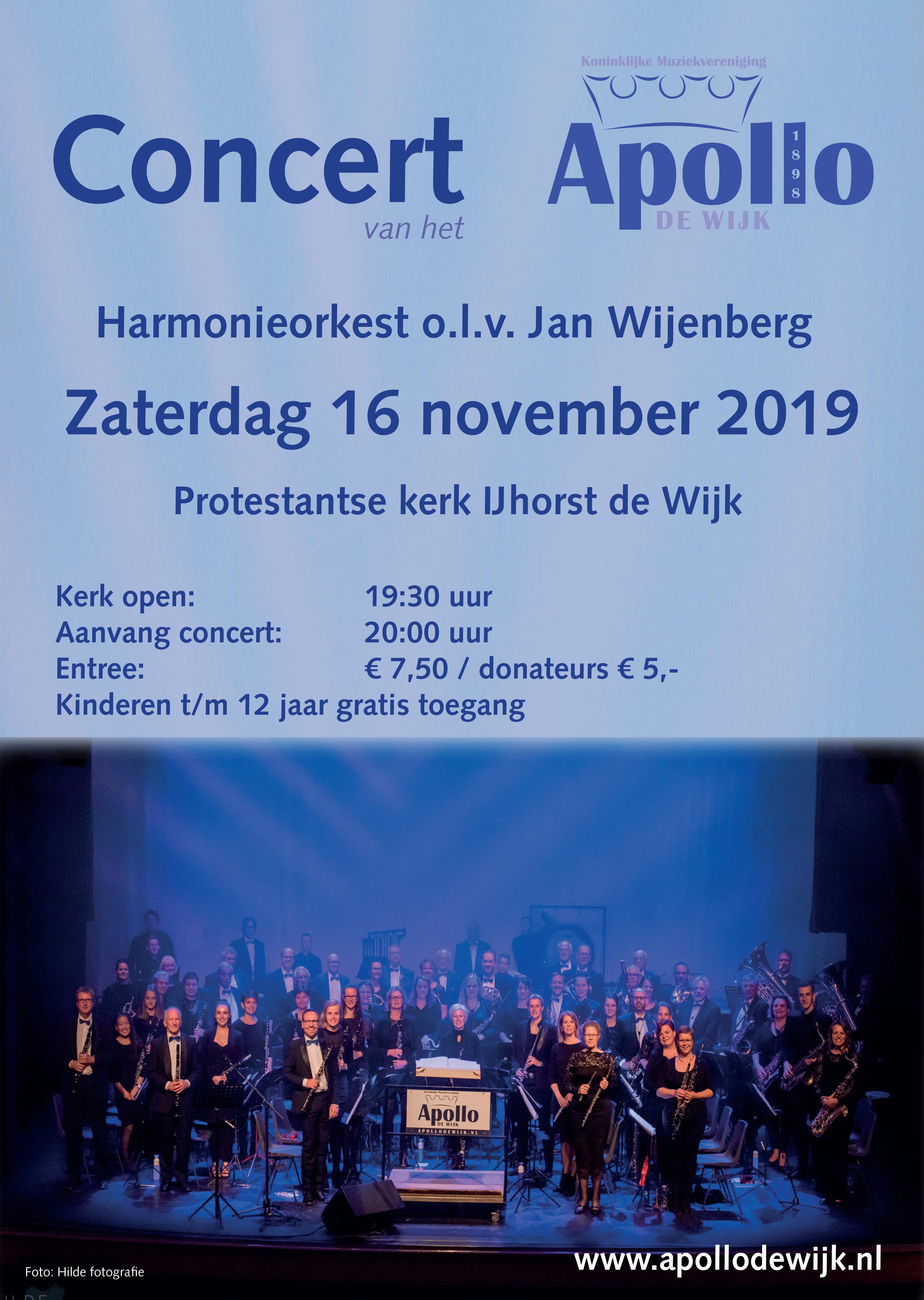 Concert Apollo De Wijk 16-11