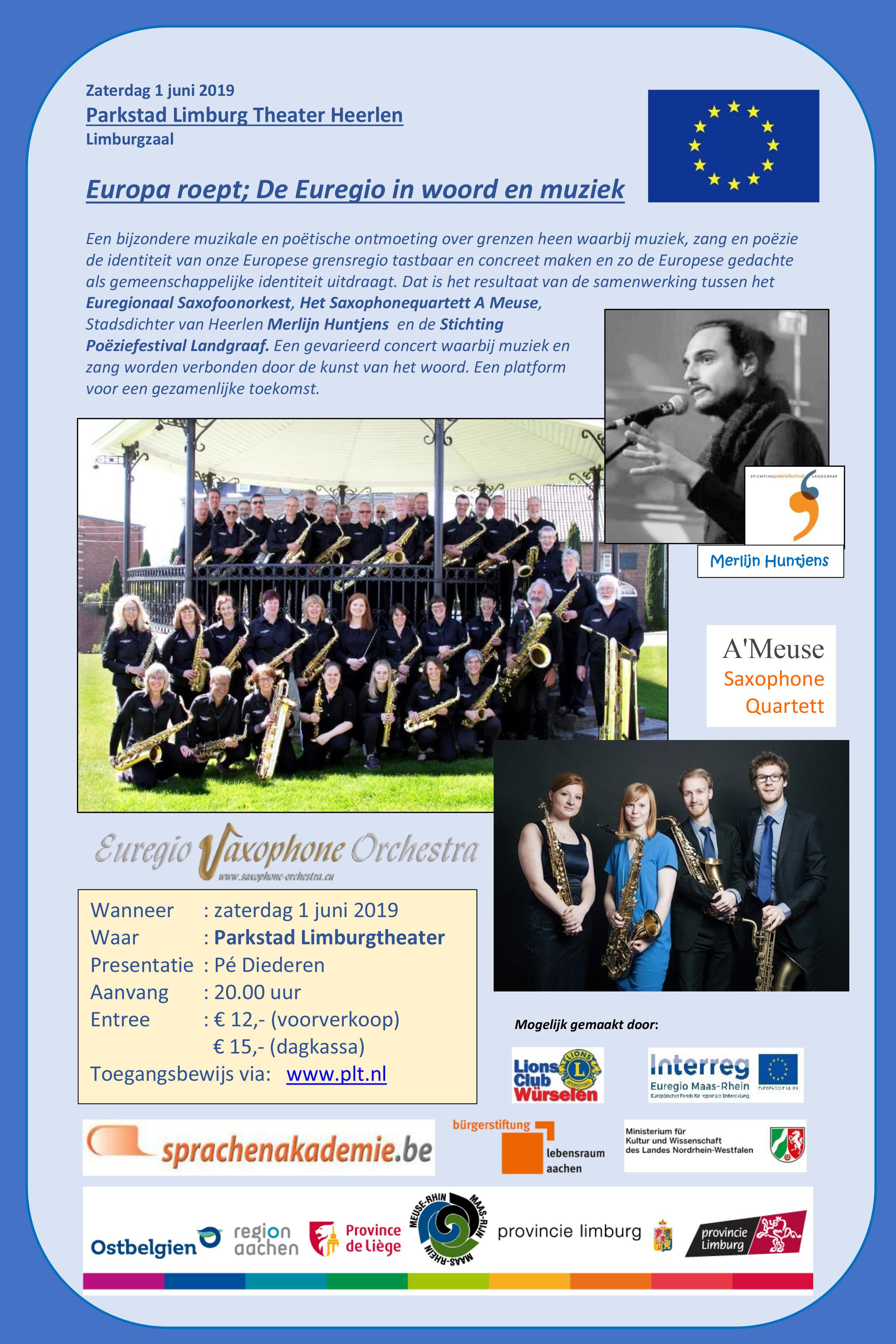 Poëziefestival Heerlen 15 april - 27 mei