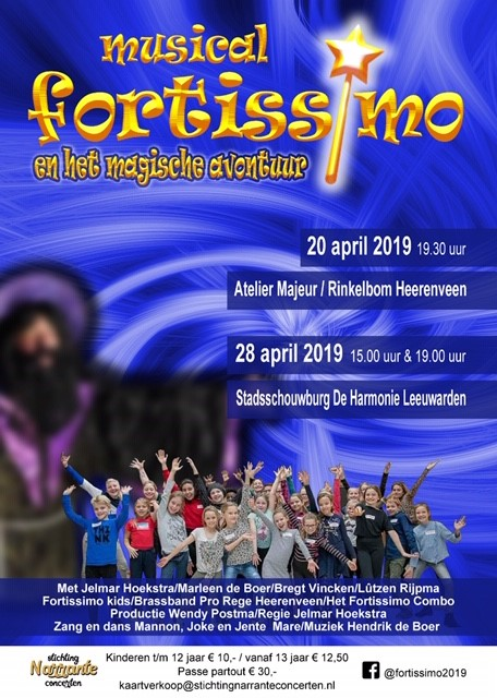 Musical Fortissimo 28 maart tot 19 april