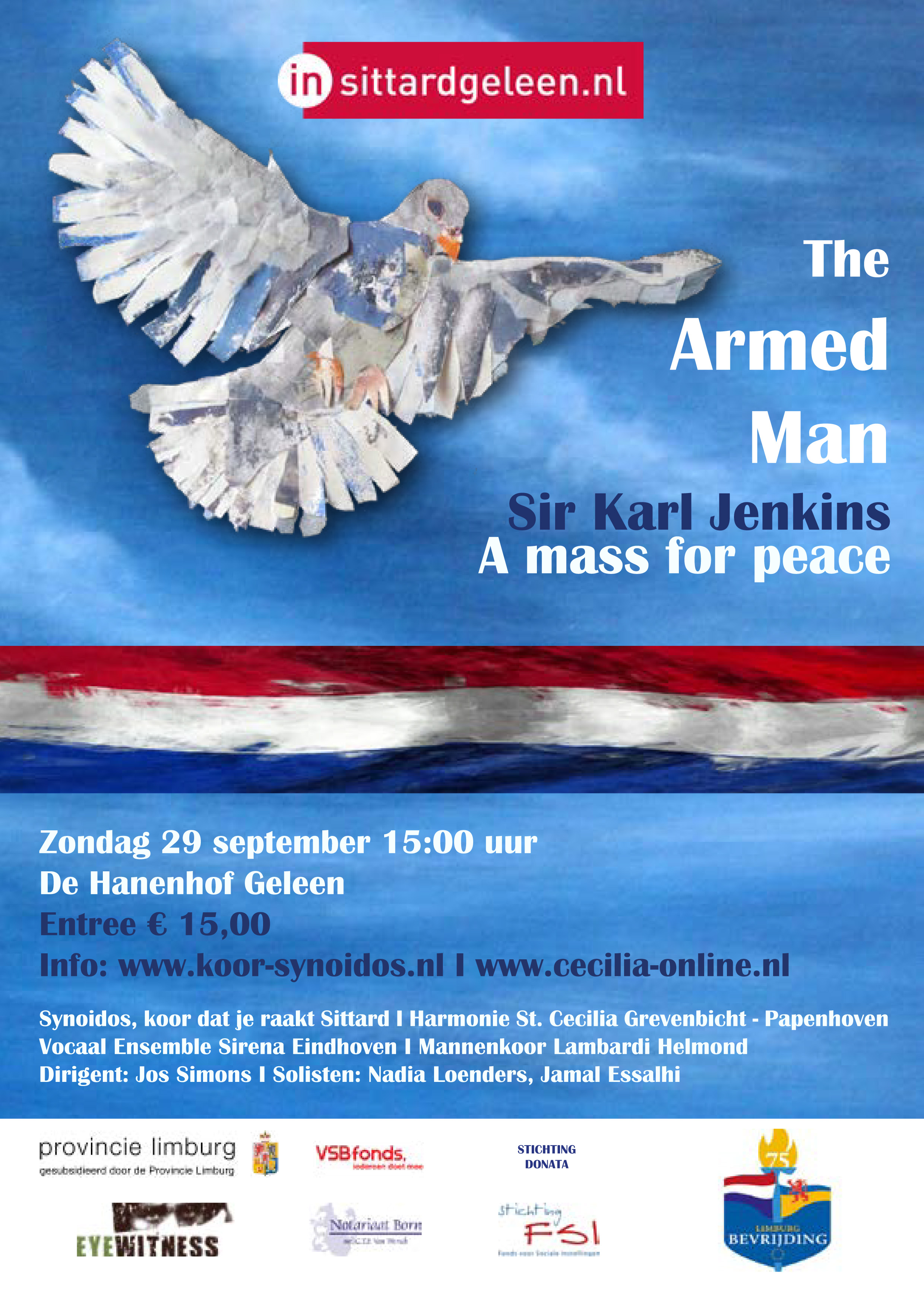 One Armed Man Geleen tot 29 sep