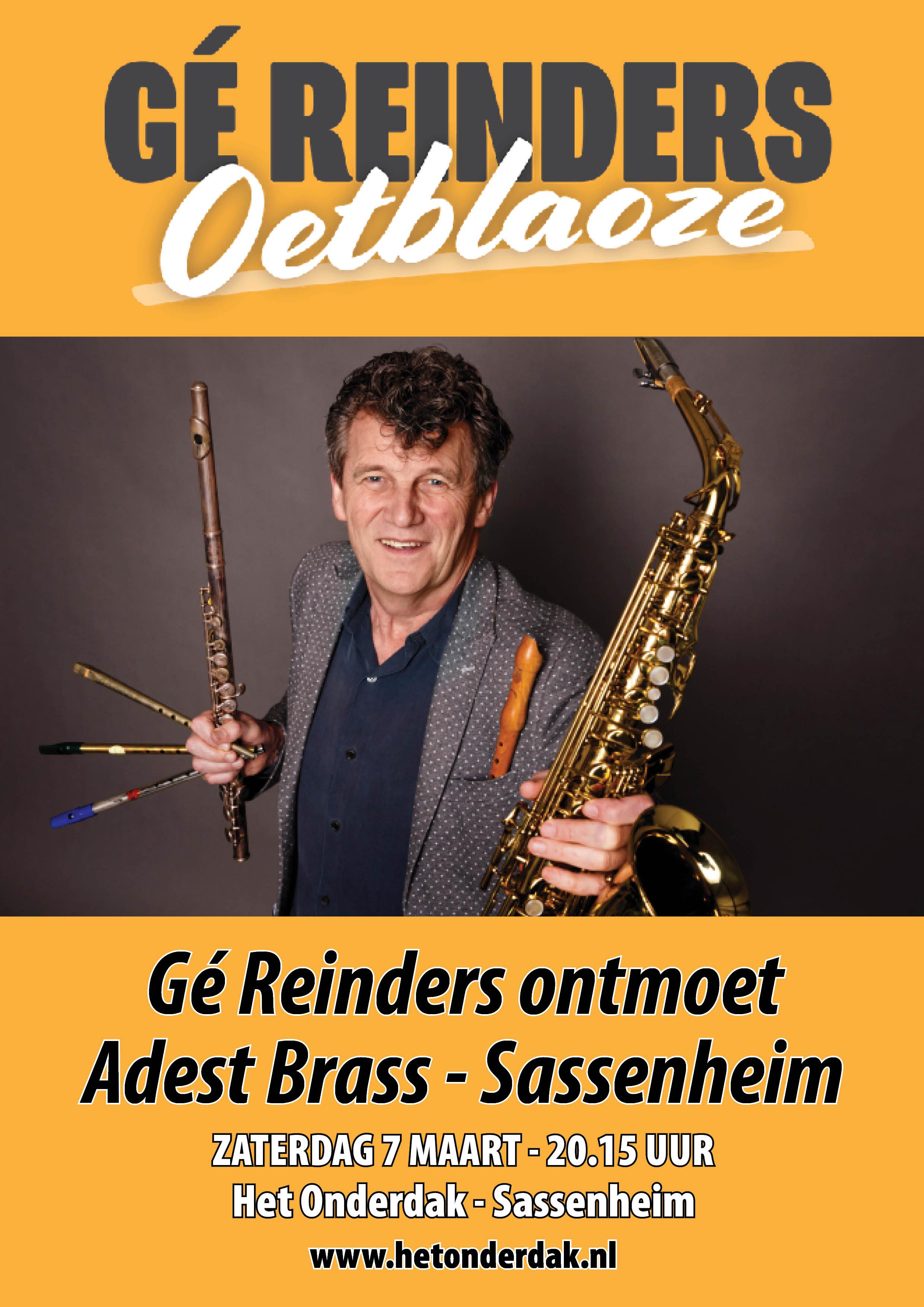 Adest Brass Sassenheim met Gé 7 maart