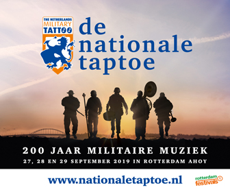 Nationale Taptoe tot 29 september