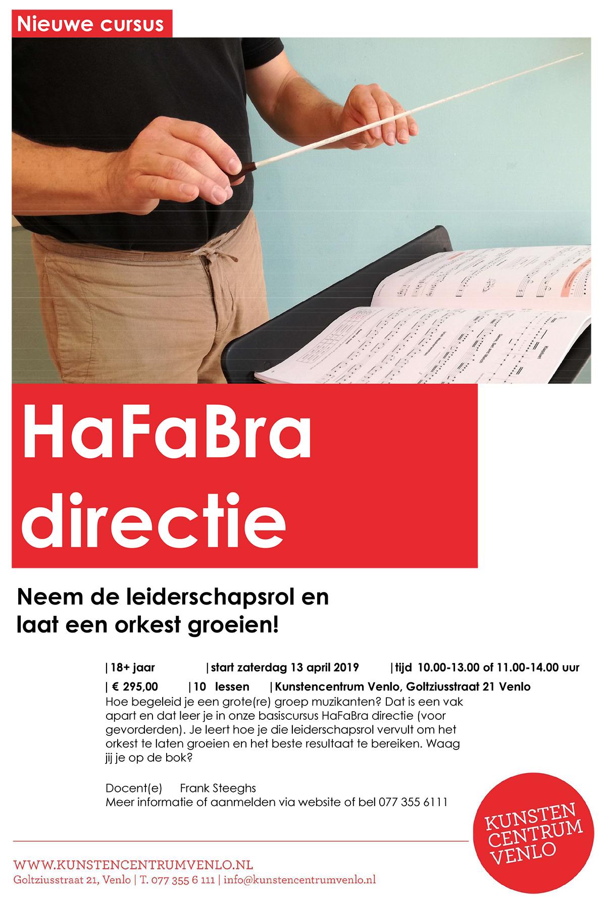 Hafabra Cursus Venlo 26 maart - 16 april