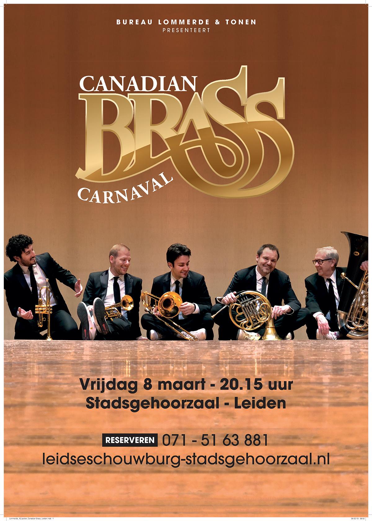 Canadian Brass Leiden 8 mrt