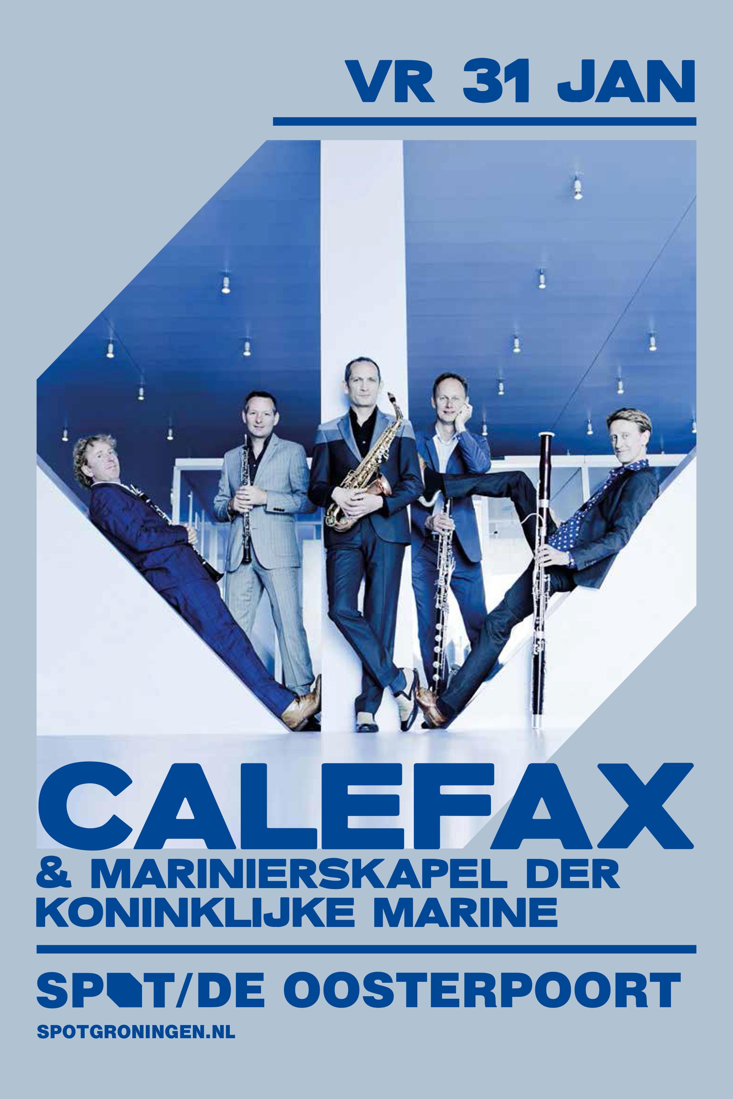 Groningen Calefax en Mariniers 31 jan