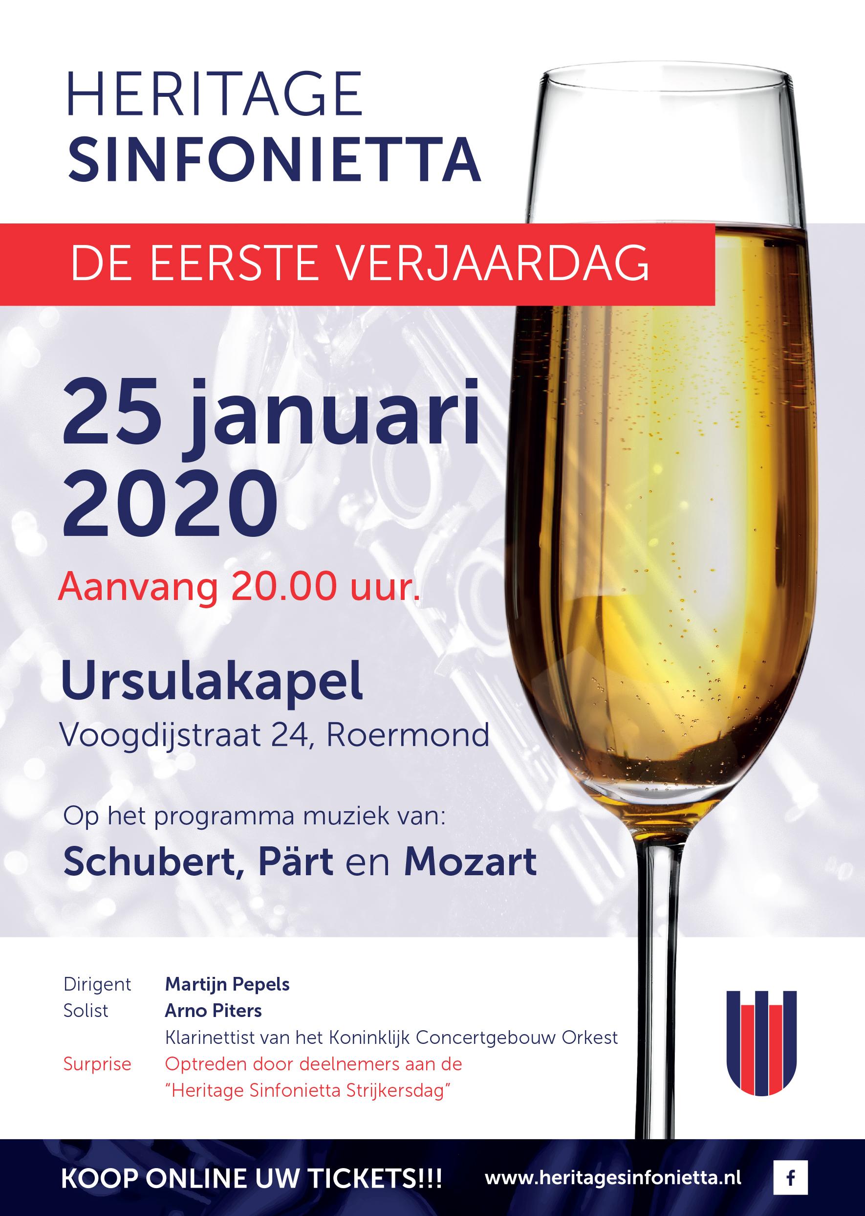 Hermitage Sinfoniette 25 jan