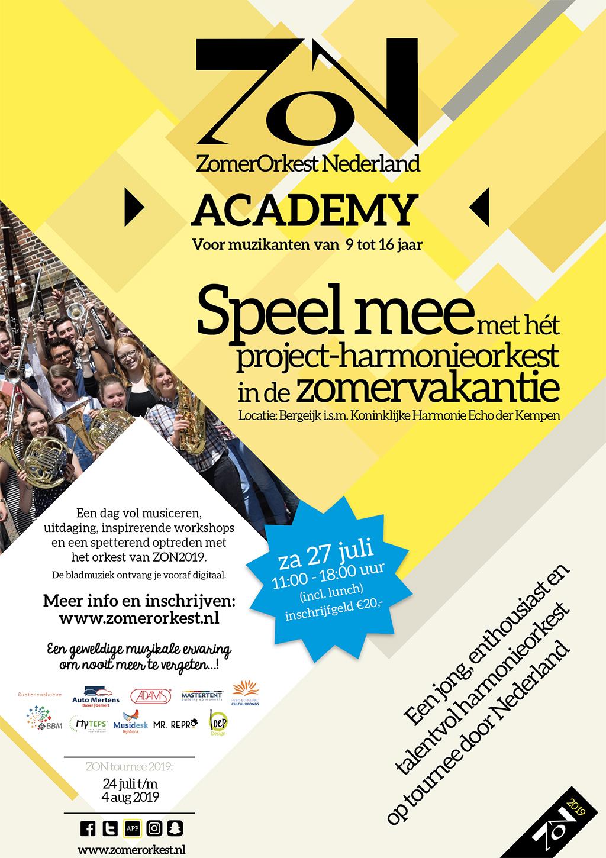 ZON Academy tot 27 juli