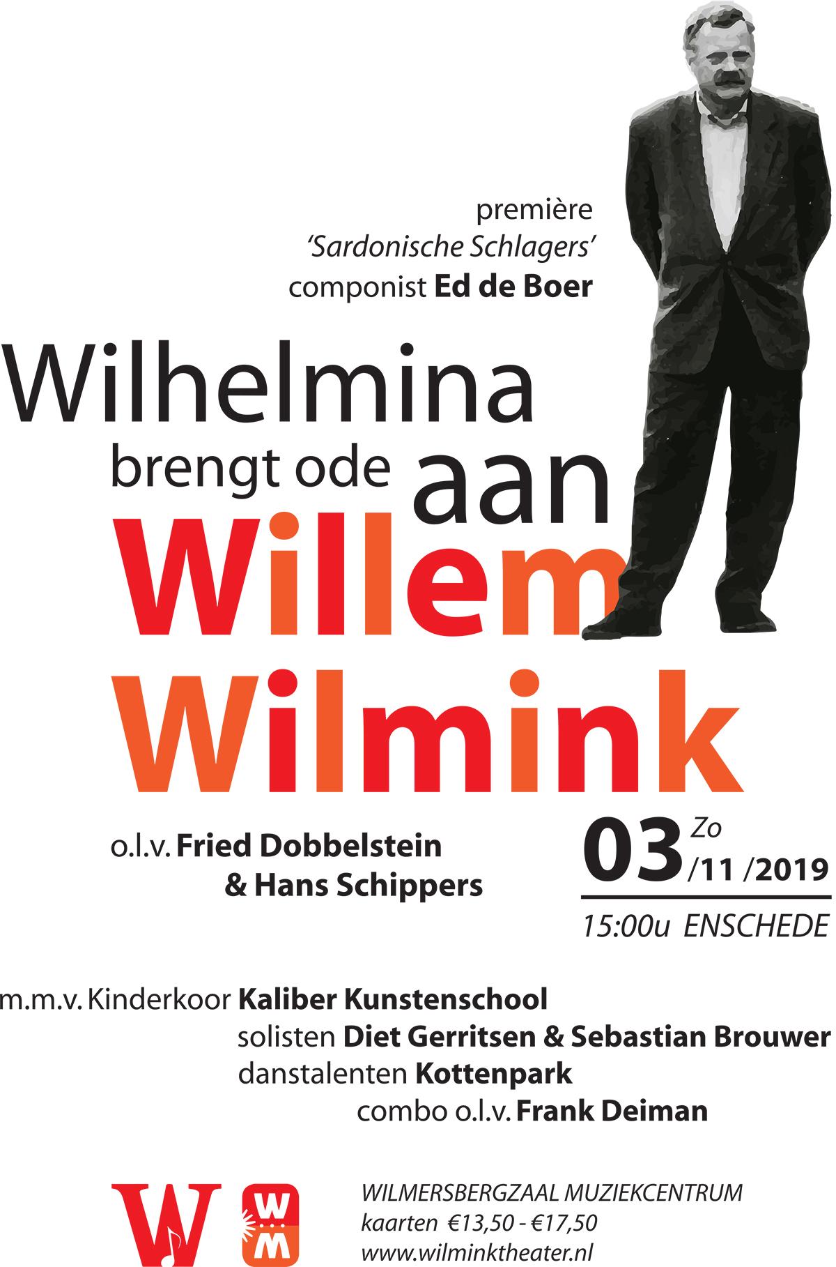 Glanerbrug Ode Willem Wilmink 3 nov