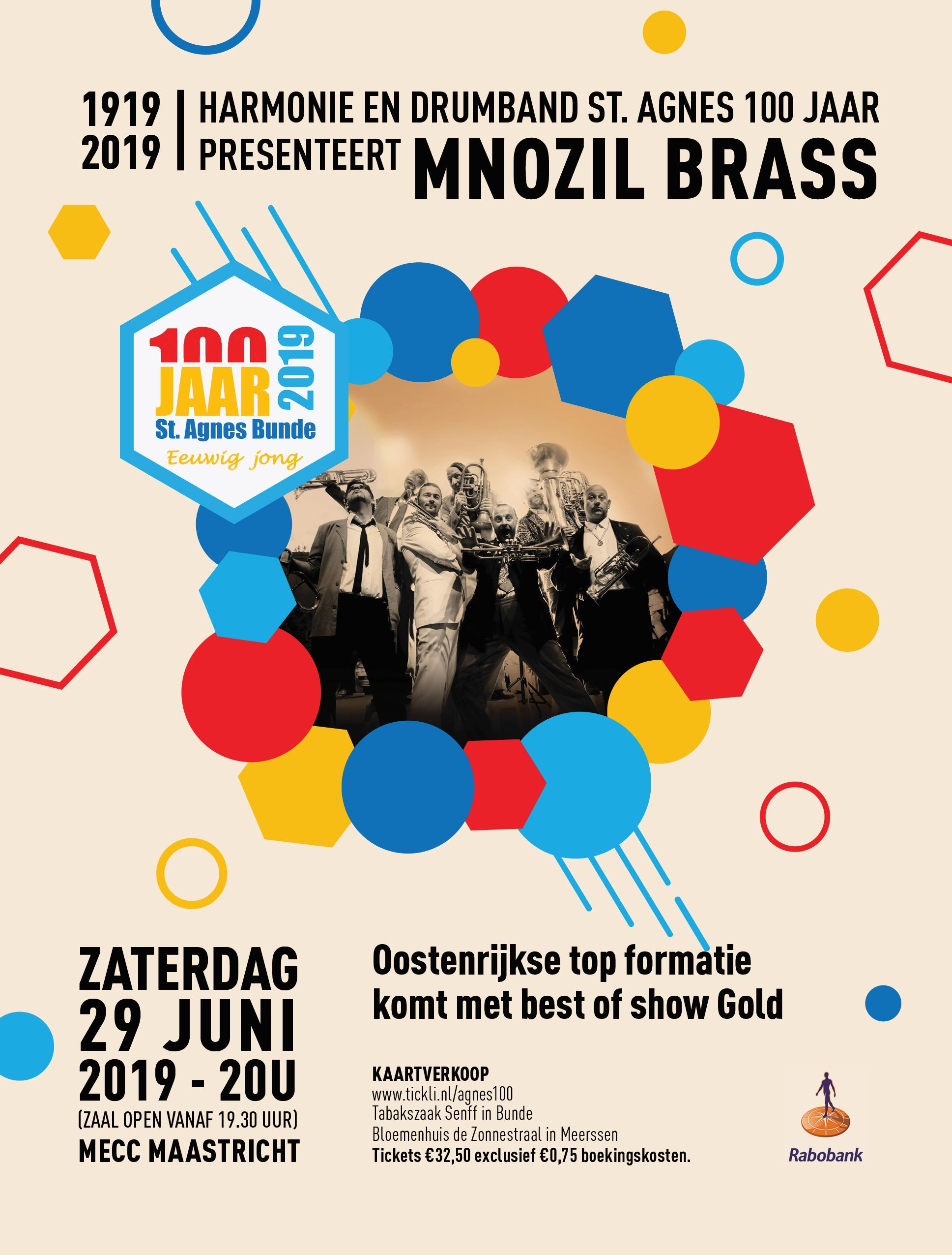 Mnozill Brass Maastricht 25 maart - 15 april