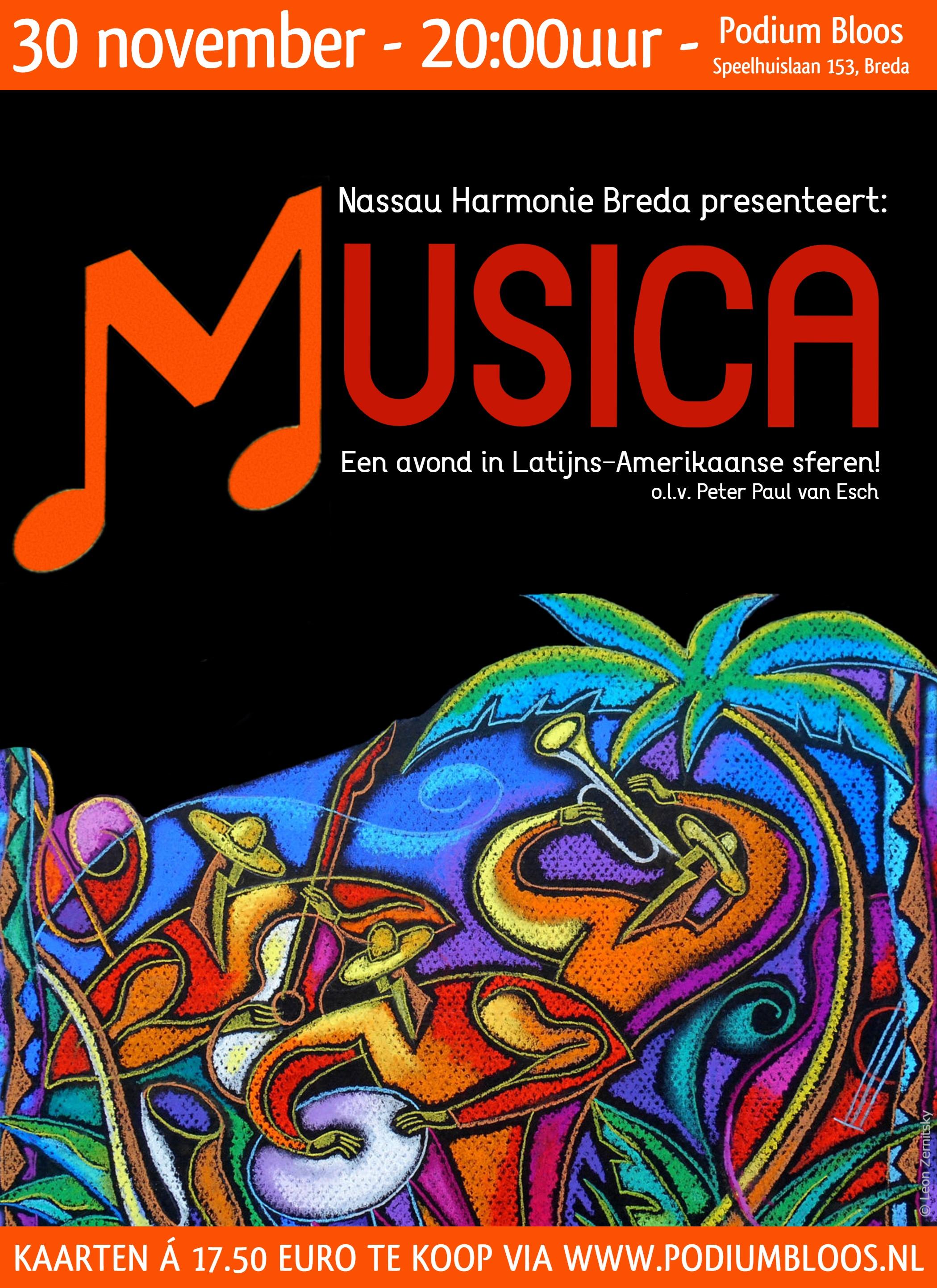 Nassau Harmonie Breda 30 november