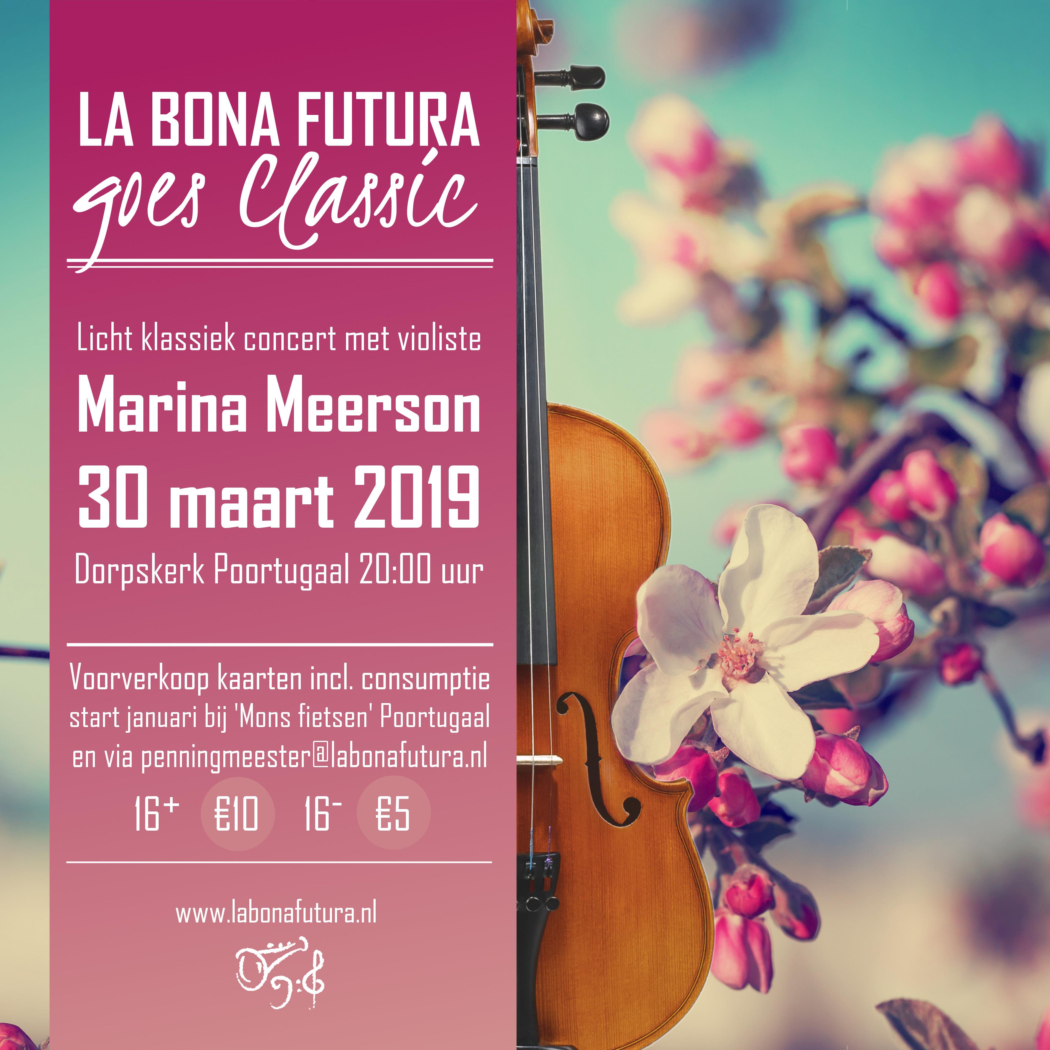 La Bona Futura Poortugaal 9-30 maart