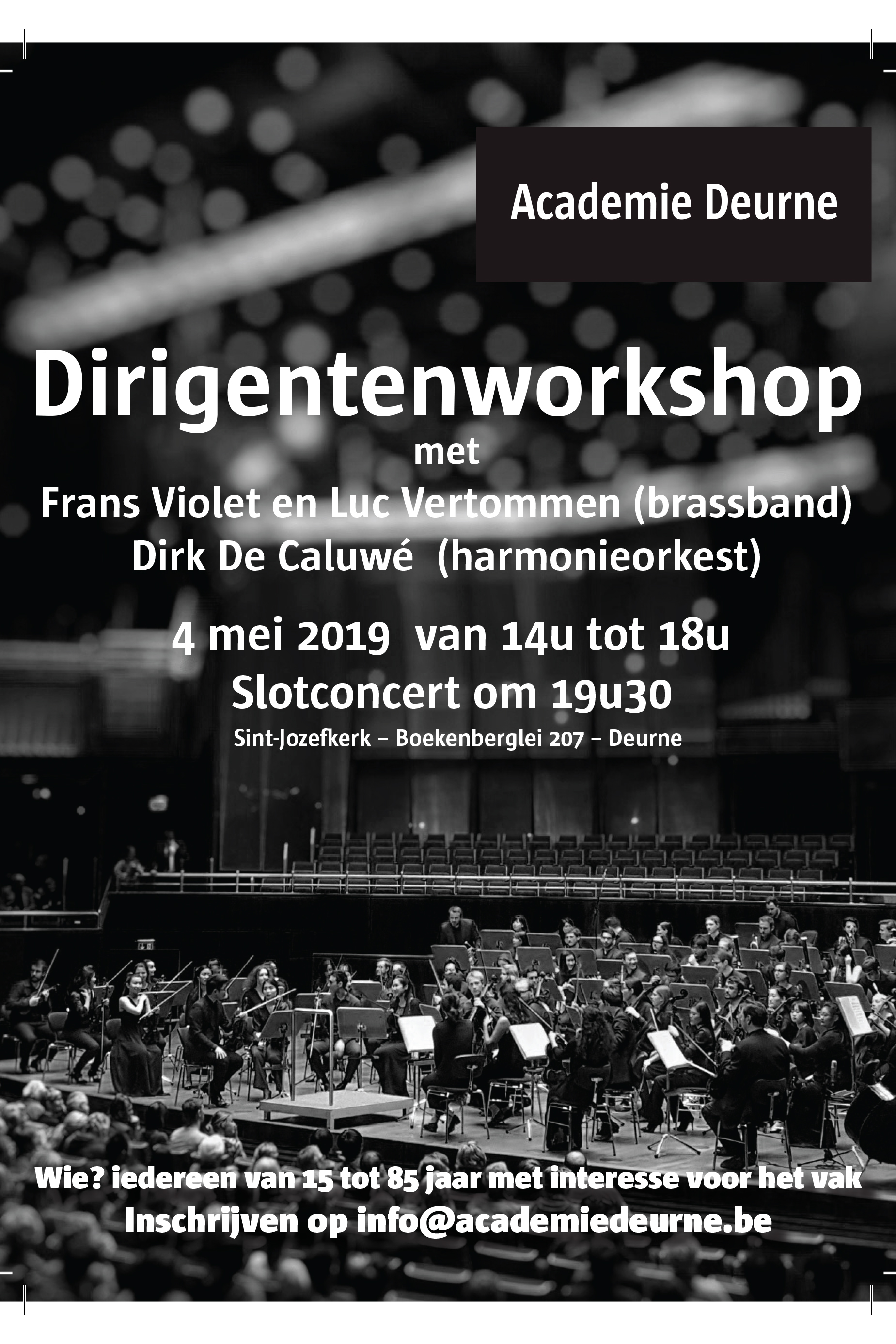 Dirigentencurus Deurne 4 - 25 apr