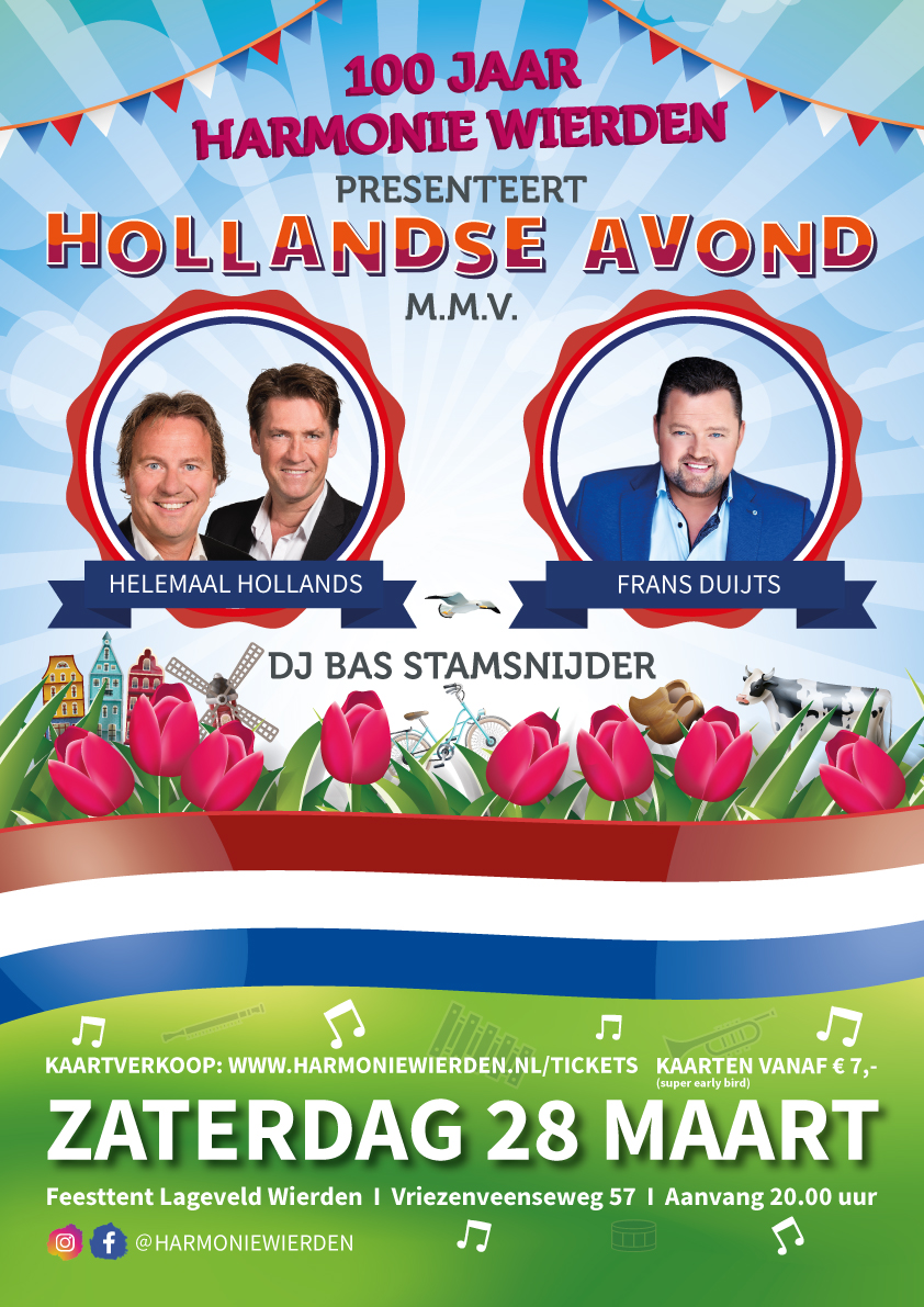 Hollandse avond harmonie Wierden
