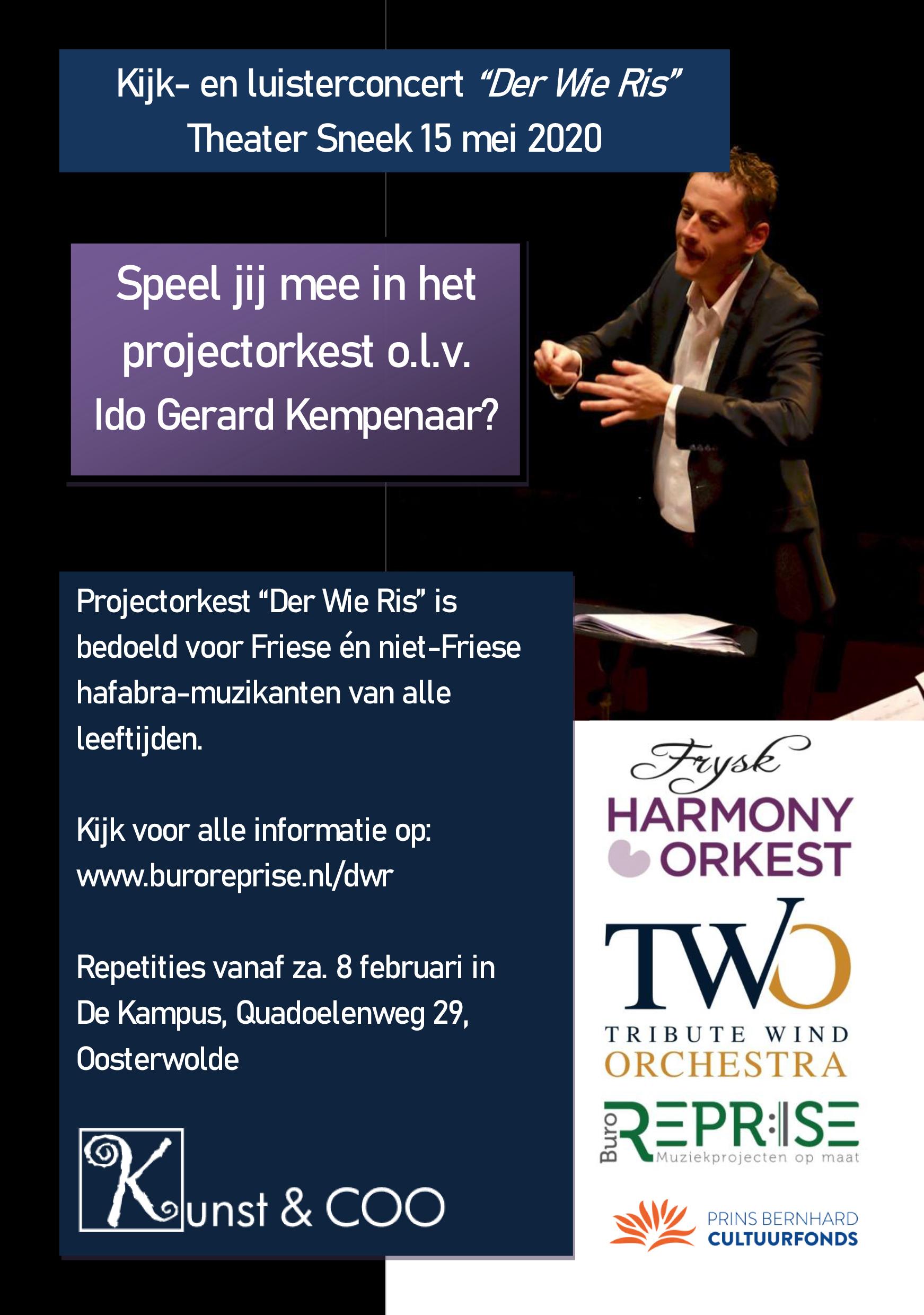 1-4 Projectorkest Der Wie Ris 8 feb