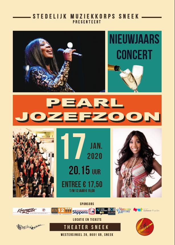 Sneek Stedelijk Orkest met Pearl 17 jan