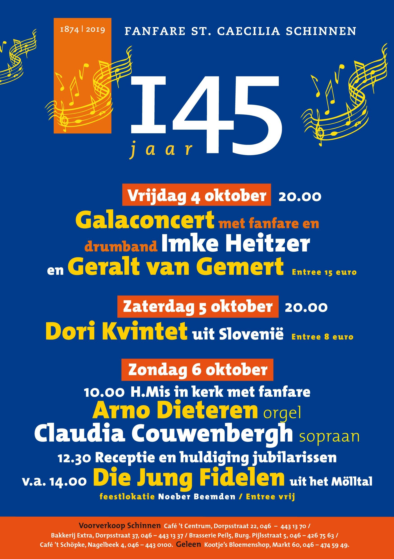 Sint Caecilia Schinnen tot 4 oktober