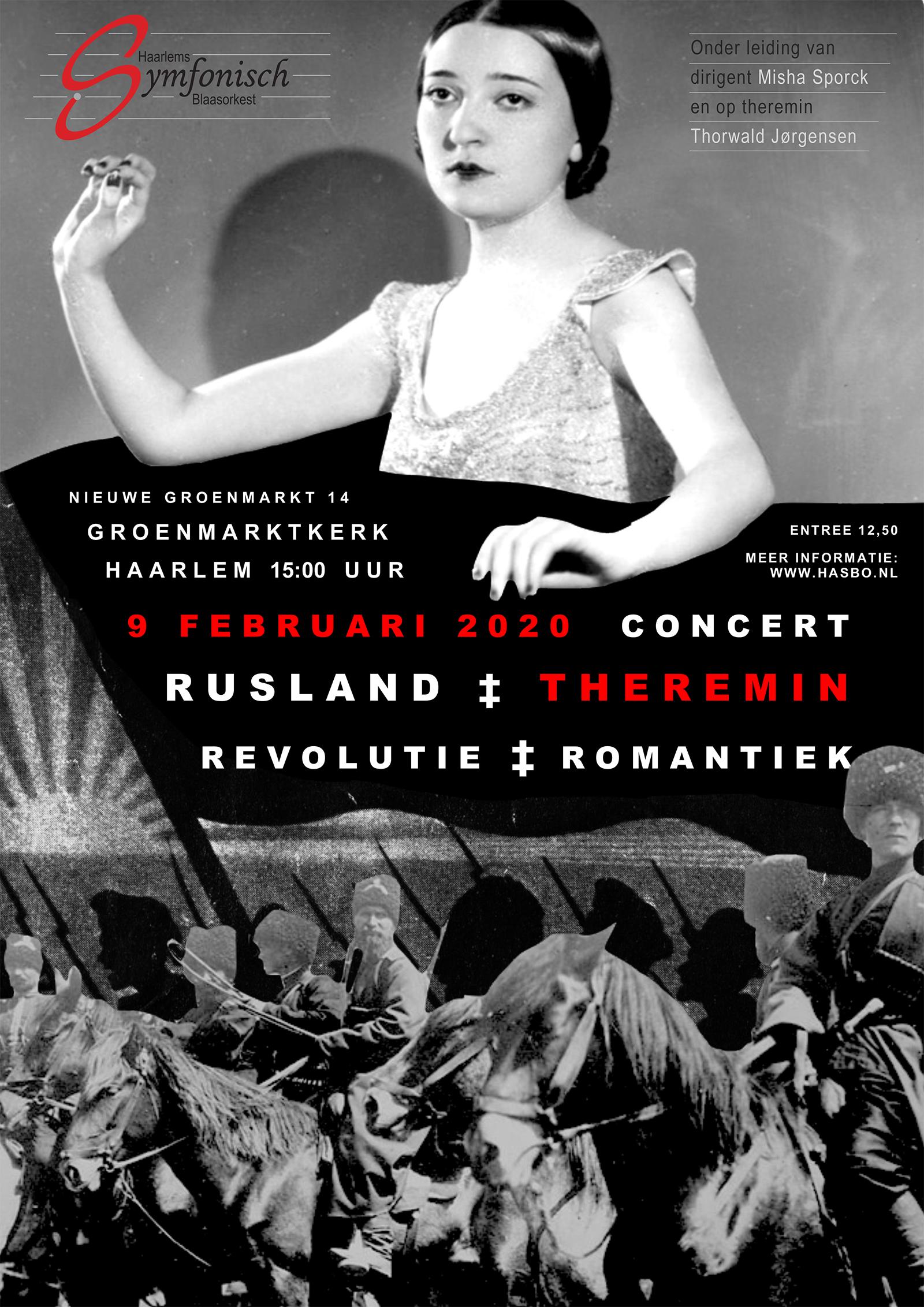 Haarlems Symfonisch Blaasorkest met Russische muziek