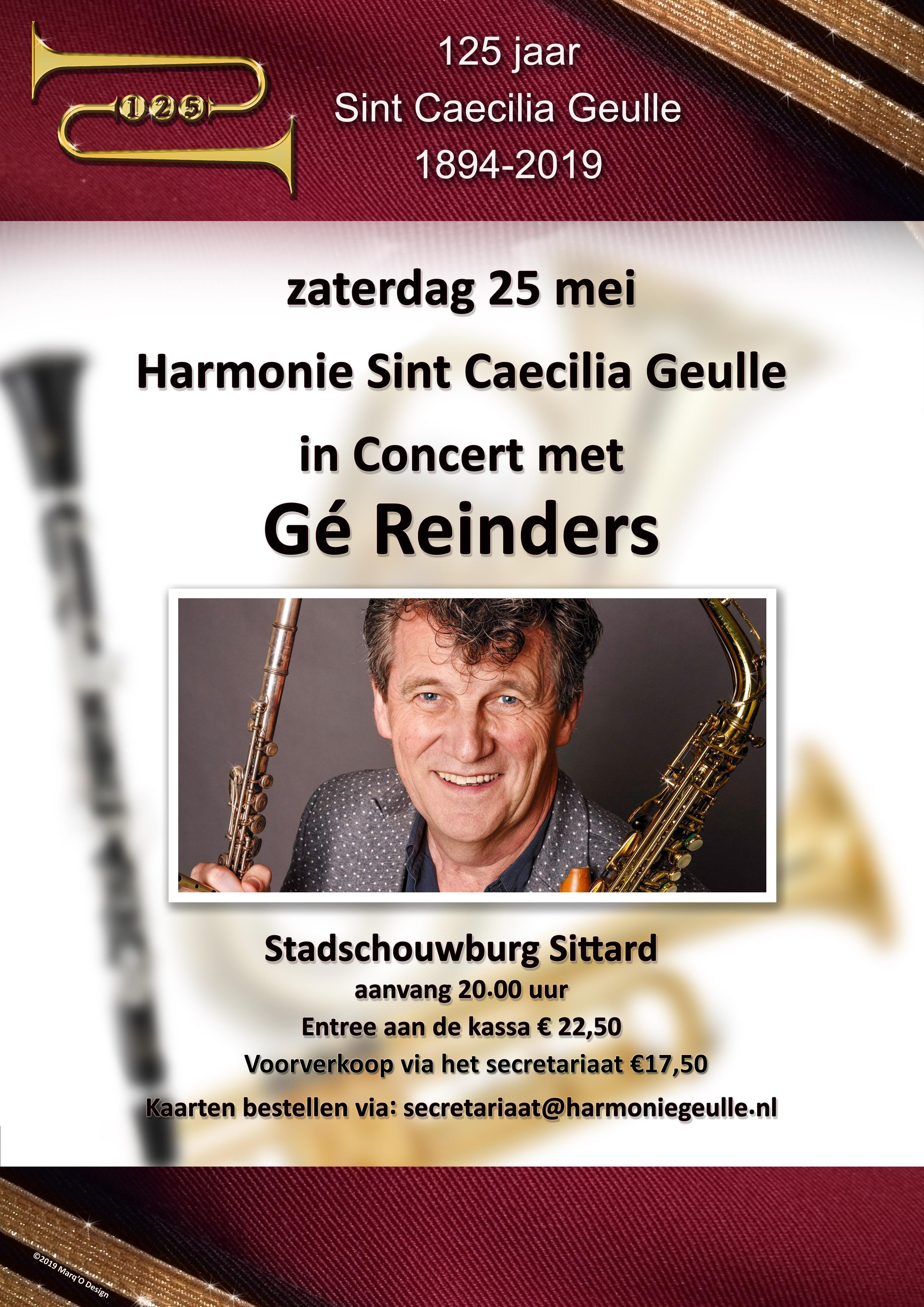Caecilia Grevenbicht met Gé 1 mei - 25 mei