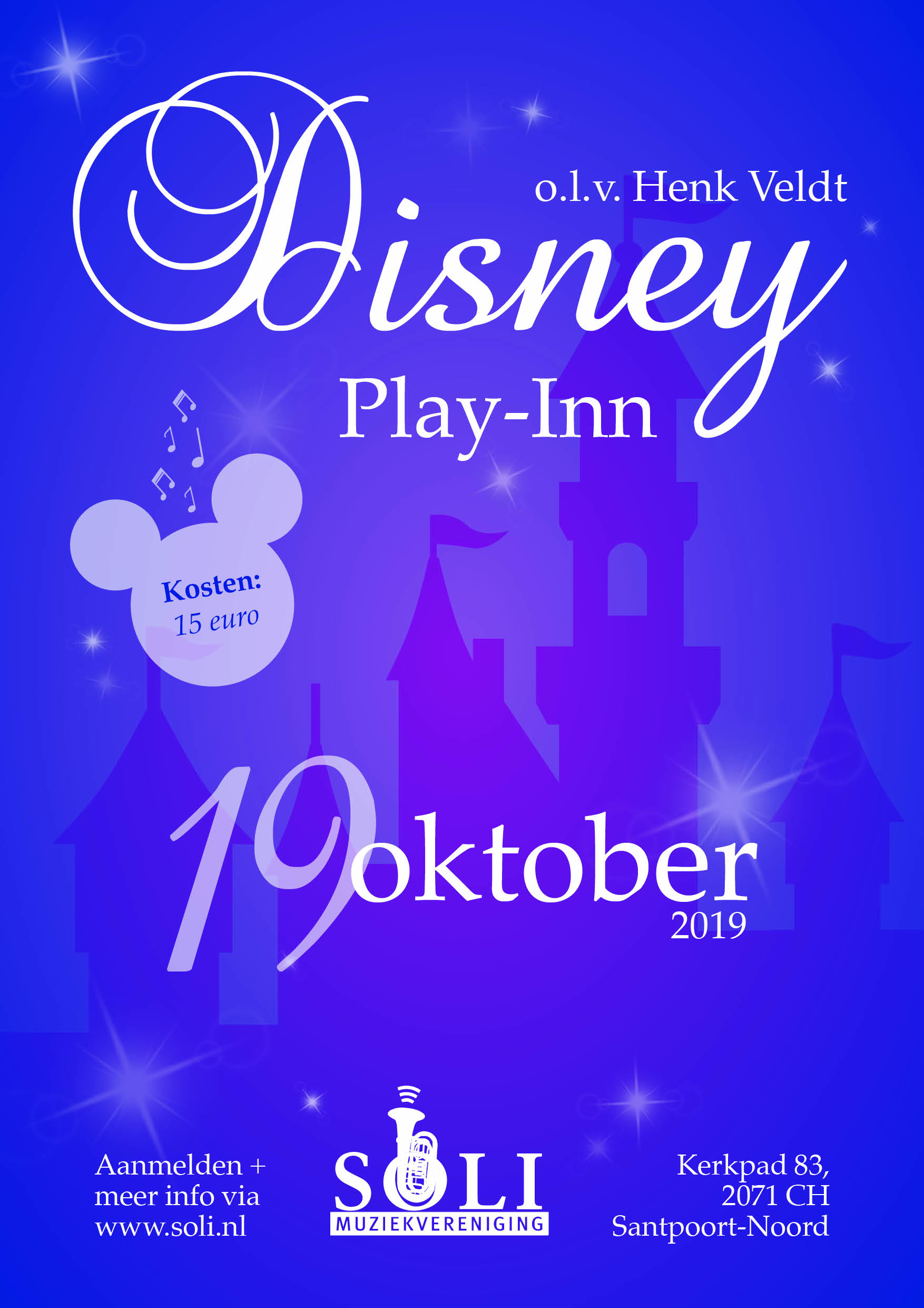Disney-play-in Driehuis tot 1 september