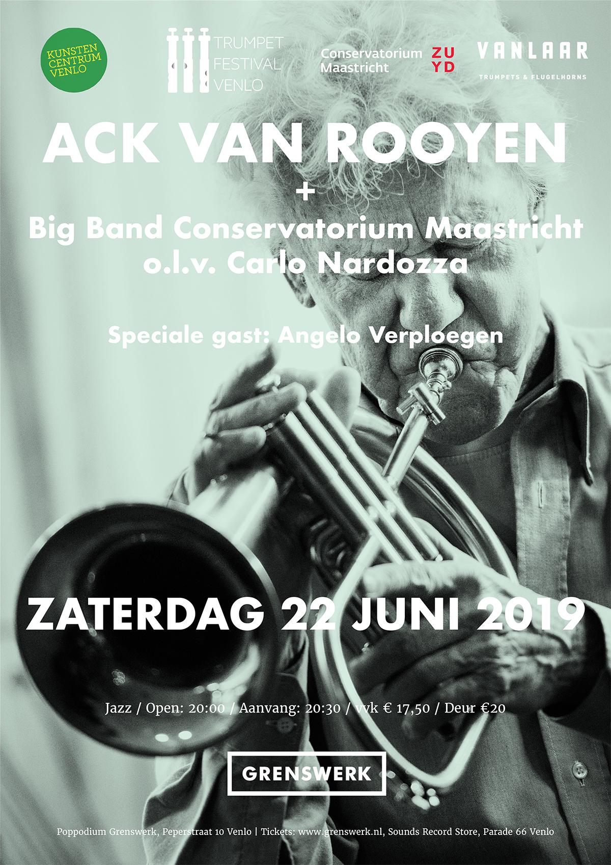 Trumpet Festival Venlo concert tot 22 juni