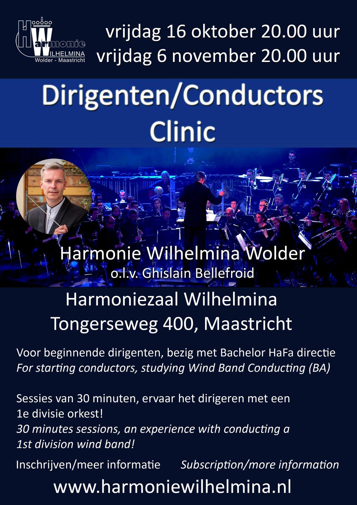 Dirigentenclinic Wolders