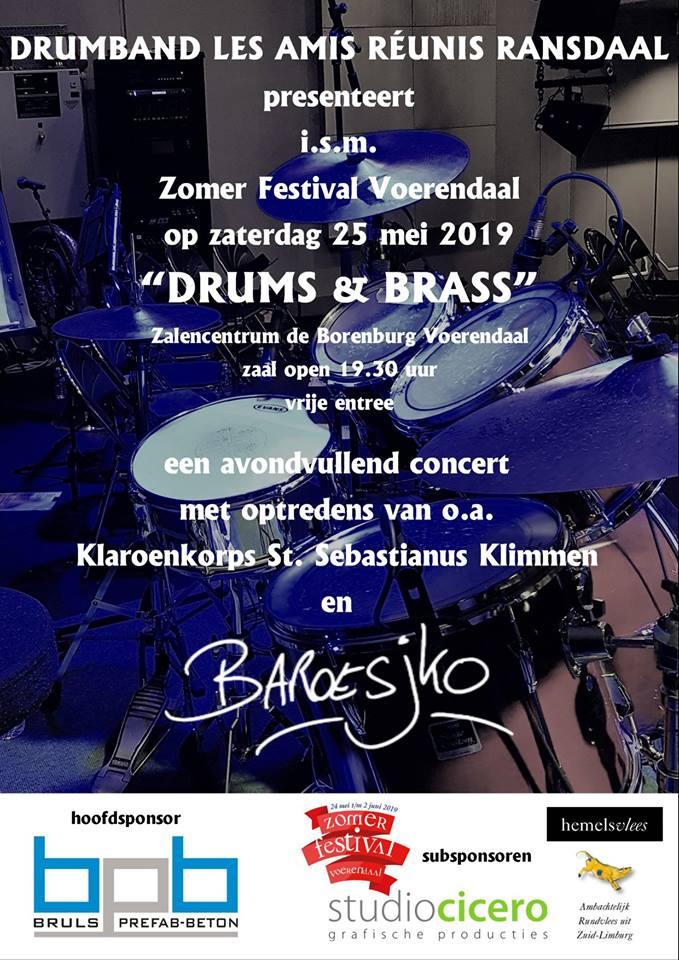 Drum & Brass Voerendaal 11 mei - 1 juni