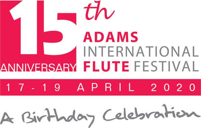 Adams Fluitfestival banner voorpagina 19 april