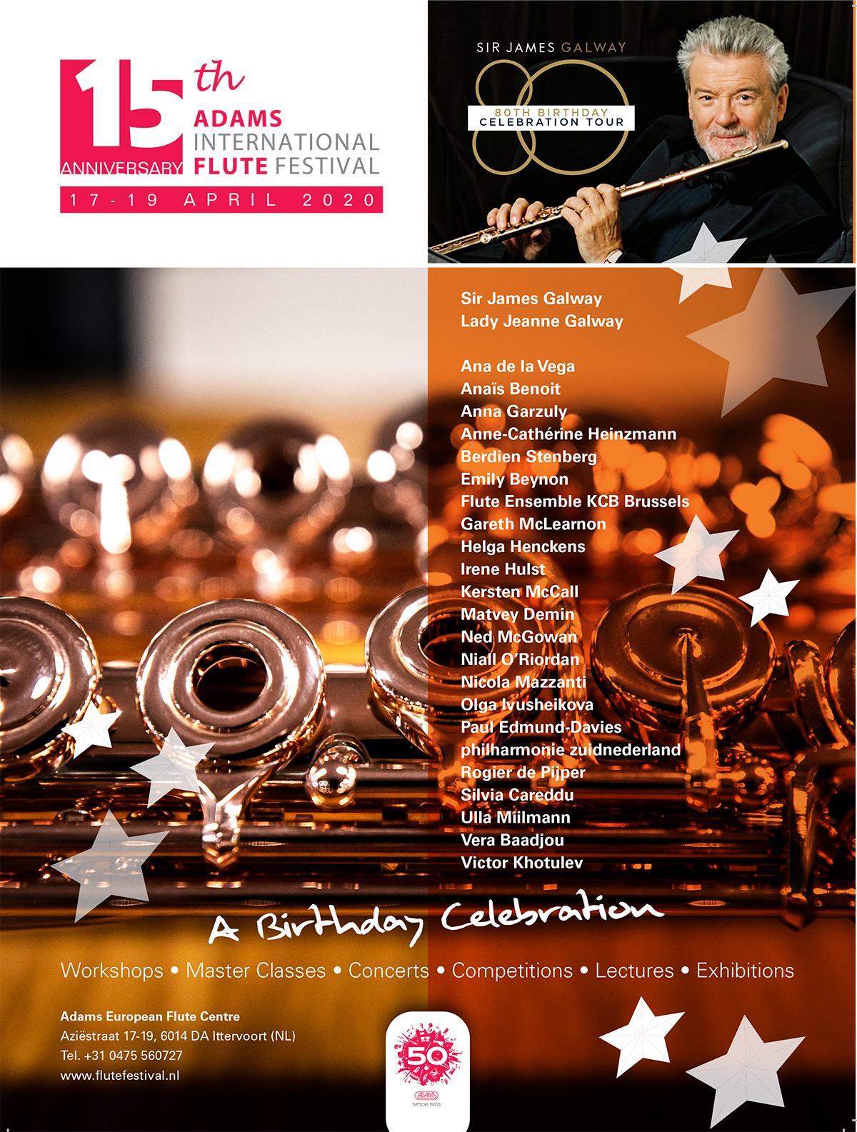 Adams Fluitsfestival 19 april