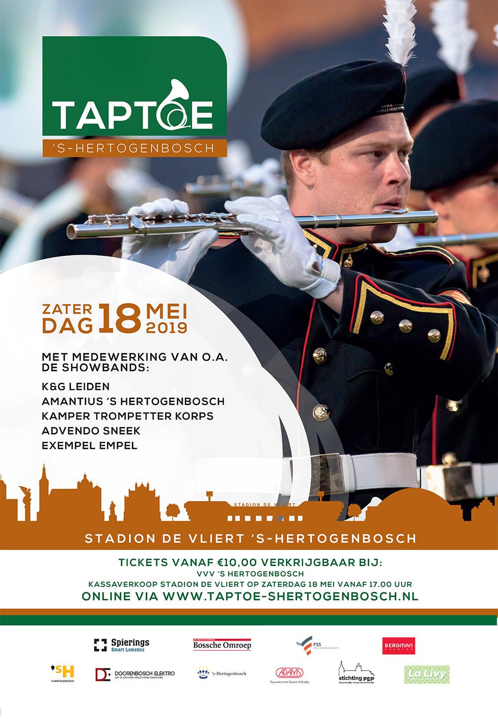 Taptoe Den Bosch 22-28 april