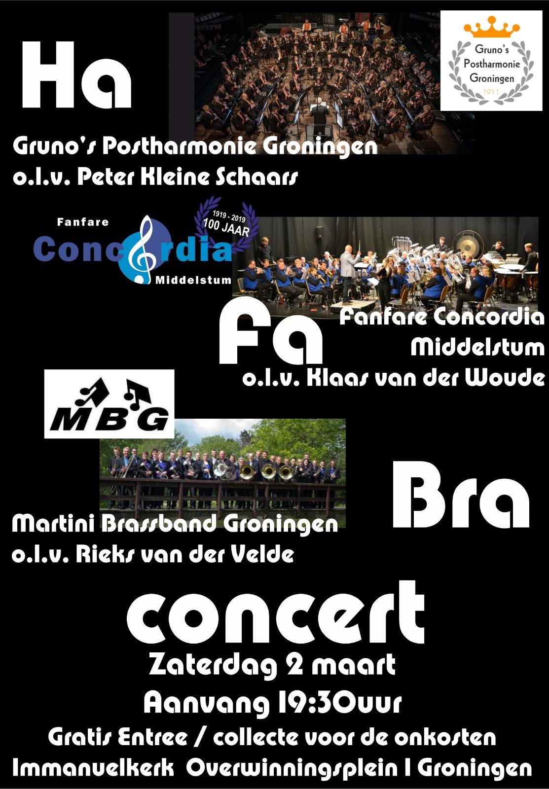 Gruno's Postharmonie 2 maart