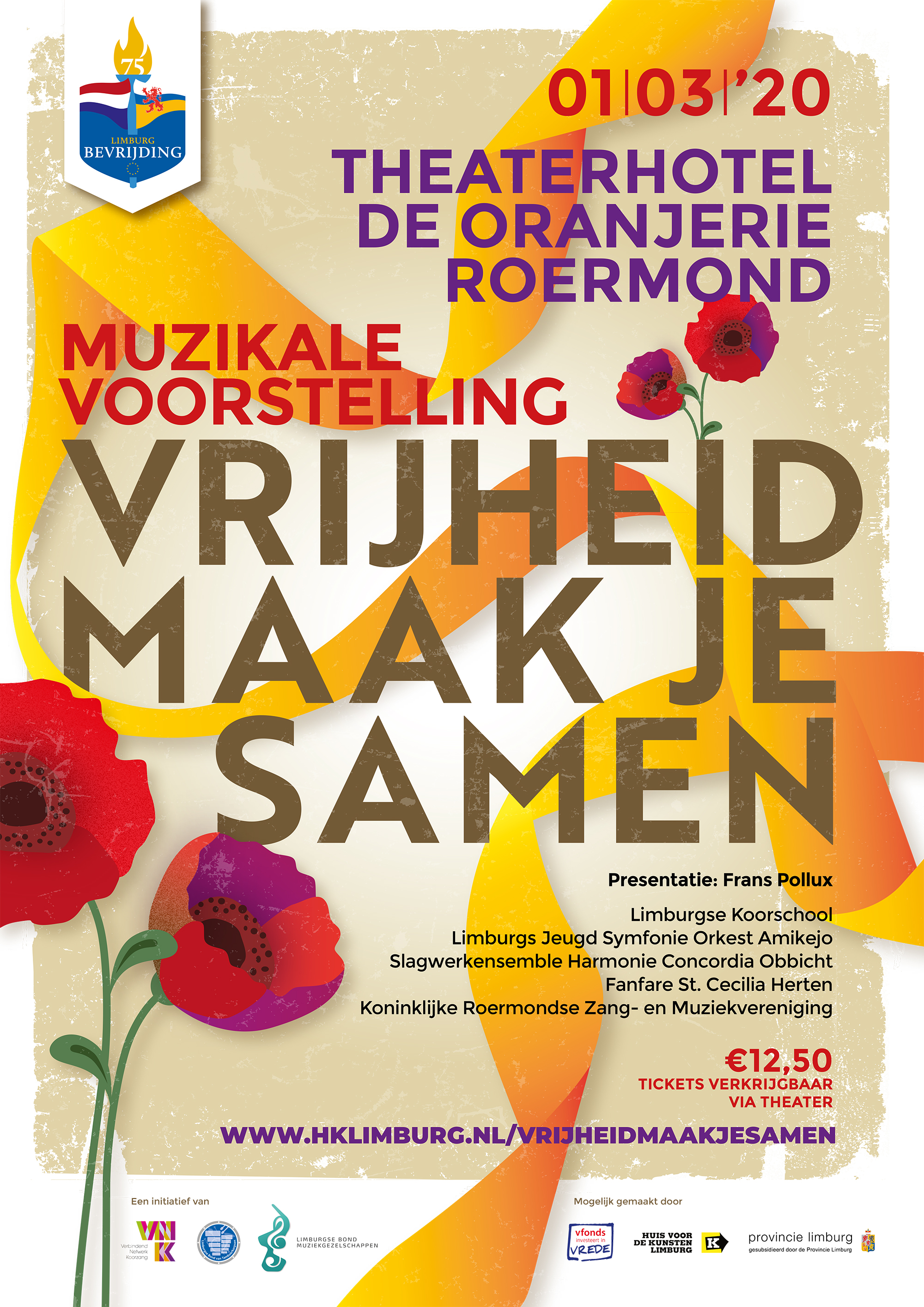 1-1 Vrijheid Maak je Samen Roermond 1 maart