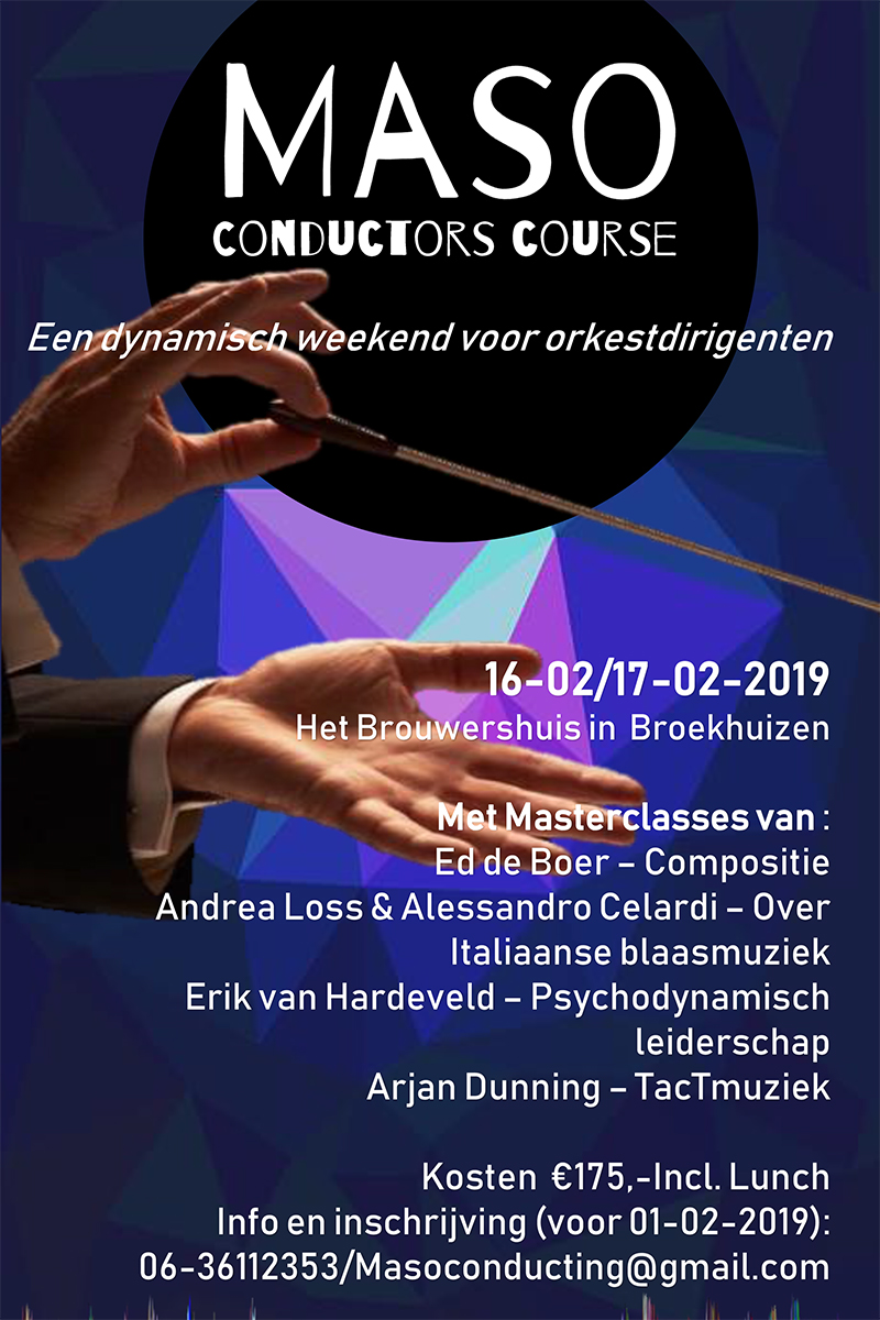 MASO Conductors Course