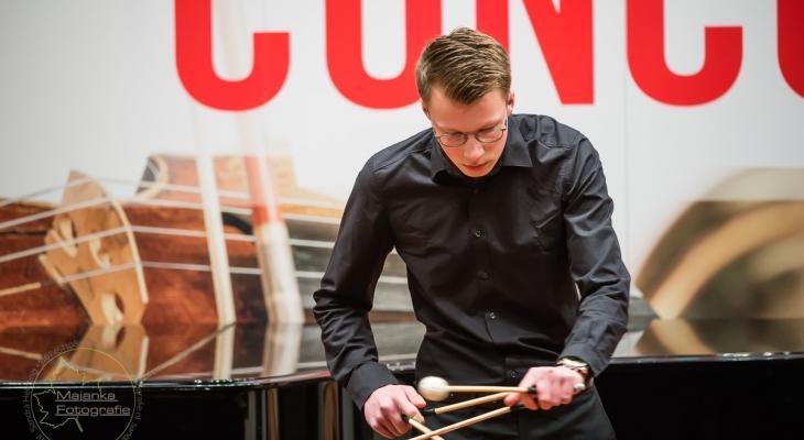 Componist Twan Swagten (20) stel zijn compositie Waan voor