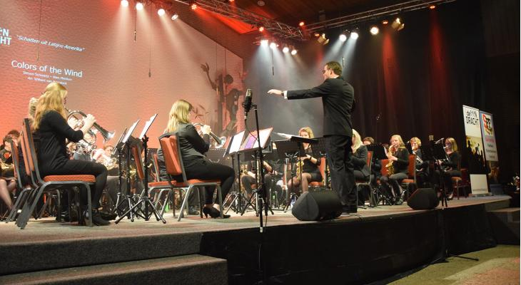 Survento Fanfare Festival in trek bij deelnemers