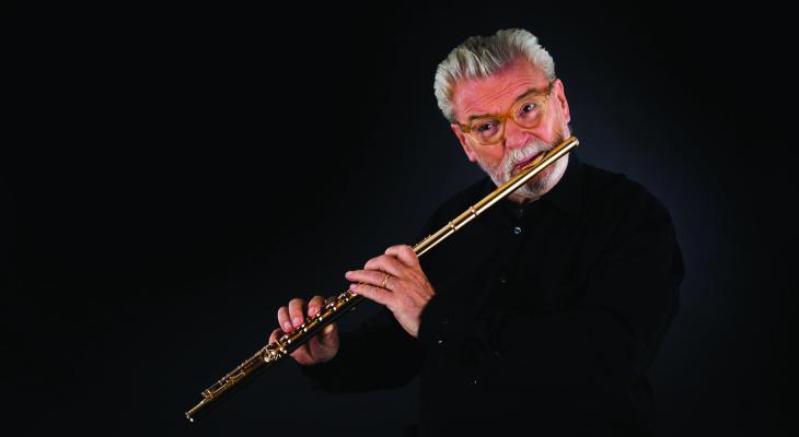 Sir James Galway viert 80e verjaardag op 15e Adams Fluitfestival