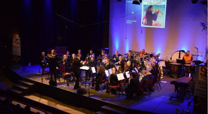Survento Fanfare Festival met 15 deelnemers
