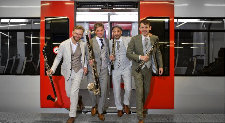 Nieuw Amsterdams Klarinet Kwartet op Barockfestival in Sittard