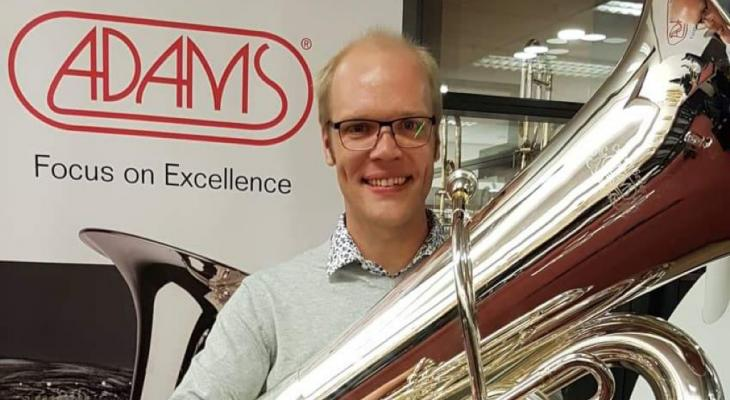 Masterclass pedaaltonen op bastuba door Daniel Ridder